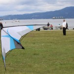 JB flying Kymera at 2012 PacRim Kite Festival